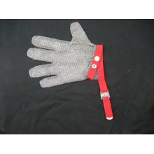 Cota de malha protetora corte resistente trabalho luva-2373