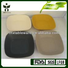 Placa de fibra de bambú biodegradable