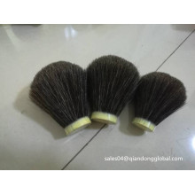 22/65mm Natural Black Horse Hair Knot