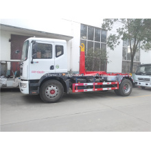 Camion à ordures Dongfeng pour collecter les déchets solides municipaux
