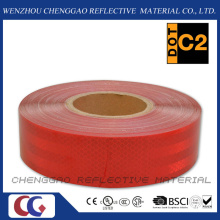 Red Vehicle Conspicuity Retro Reflective Tape for Truck (CG5700-OR)