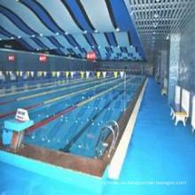 El fabricante profesional de pisos de piscinas para interiores / exteriores utilizados