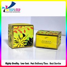 Free Sample Availble Foldable Crush Bottom Paper Organic Gift Box