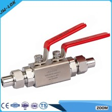 China best-selling high Pressure ball stop cock valves