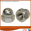 China Supplier Stock DIN1587 Stainless Steel Decorated Acorn Nuts