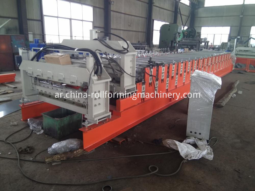 11m Length Double Layer Roll Forming Machine
