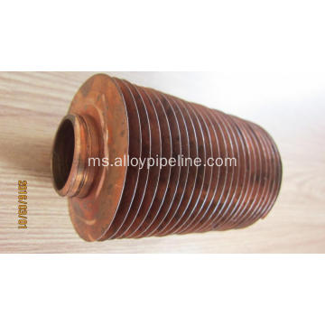Extruded High Radiator Copper Finished Tubes 10.5mm