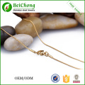 Latest Design Gold Box Necklace Square Link Stainless steel  Chain