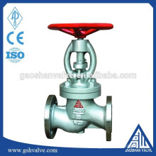 wcb flanged end globe valve