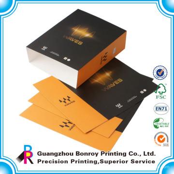 fundas de cajas de embalaje de papel impreso personalizado