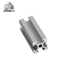 Extrusion en aluminium anodisée à fente 2020