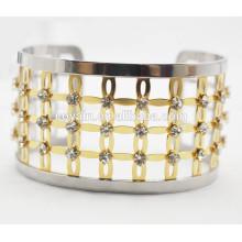 Braceletes de ouro braceletes design pulseira bracelete