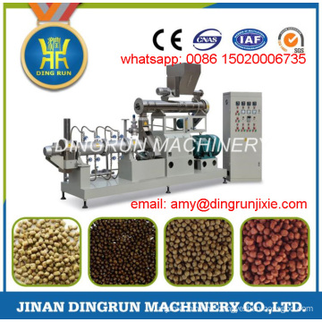 700kg per hour floating fish feed extruder