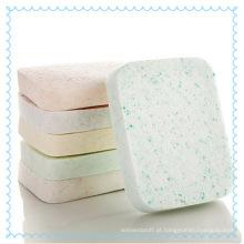 Esponja de celulose natural Facial limpeza Puff