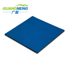 Square Outdoor Shock-Absorbing Playground Flooring/EPDM Rubber Grains