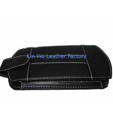 Classical Leather Psp Carrying Bag With Carry Handle And Hand Belt