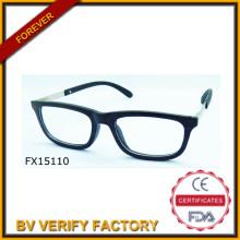 Comercial garantía bambú negro gafas de sol (FX15110)