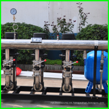 Equipo de suministro de agua voluntariamente