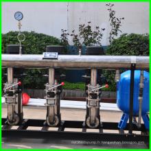 Volontairement des équipements de l'approvisionnement en eau