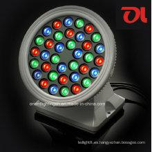 Arandela circular LED de pared de 18W / 36W RGB