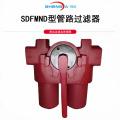 filtro de óleo em linha usado para instalação de oleoduto
