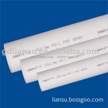 PVC-U drainage pipe, PVC-U waste water pipe, industrial use pipe