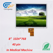 8 Inch Resolution 1024 (RGB) X768 Display LCM