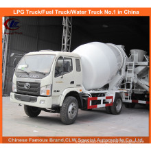 Foton 3cbm Mini Concrete Mixer Truck for Small Cement Mixer