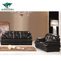 High Quality Modern Furniture Leather Chair Solid Wood Frame Single Seat Sofa