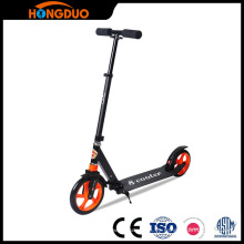 Scoot Scooter Ciudad Scooter Retro Plegable 200mm PU Ruedas