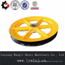 Cast Elevator Pulley Sheave