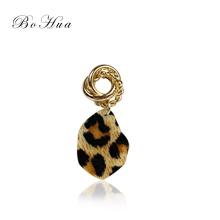 Los nuevos pendientes colgantes de leopardo únicos al por mayor joyería pendientes de mujer
