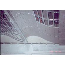 Потолочные плитки с алюминиевой панелью (GL-6601B)