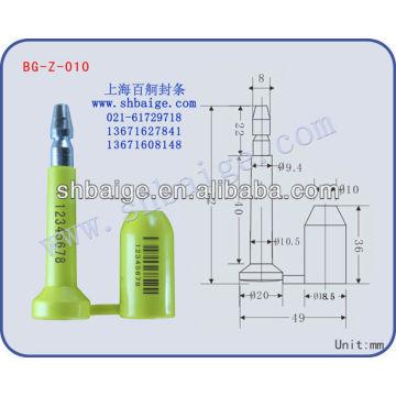 vedante de parafuso de recipiente BG-Z-010