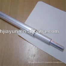 Tube en aluminium de triangle de tube de Polonais de télescope en aluminium