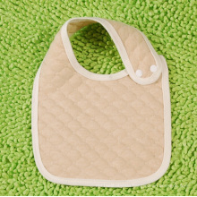 Organic Cotton Striped Baby Bib