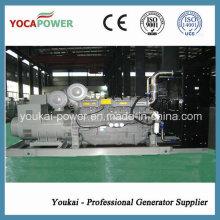 Niedriger Ölverbrauch! 4- Stroke Motor 1000kw / 1250kVA Stromerzeuger