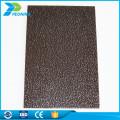 Makrolon virgin material polycarbonate flooring roofing sun shade sheet price
