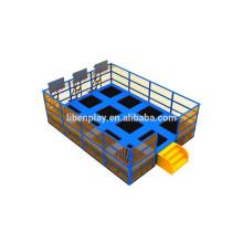 Fabricant professionnel Vente à prix bon marché Rectangle Trampolines
