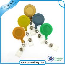 Cute Design Shape Retractable Badge Holder Customized Badge Reel