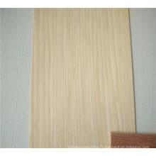 arbre artificiel placage de bois coupe en tranches couronne coupée quart de bois
