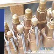 ДНЯО/БСПТ подпружиненный бронзовый предохранительный клапан