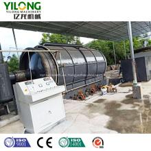 Máquina de extracción y eliminación de pirólisis de aceite de llantas de desecho India