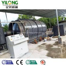 Máquina Waste da extração da eliminação da pirólise do óleo do pneu