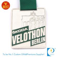 China Metal barato acabamento acabamento 3D Medalha Running para a promoção