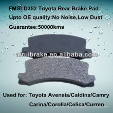 Toyota Corolla disco travão D352