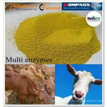 Ruminant multi-enzyme, additif d'alimentation de ruminant