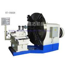 High-speed Precision Facing Lathe Machine Cutting Metal Flange