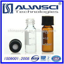 Muestras libres 2ml 8-425 HPLC vial cierre de tornillo 12x32mm