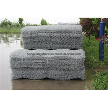 Gabion Box Pvc Coated Hot Dipped Galvanized Zinc